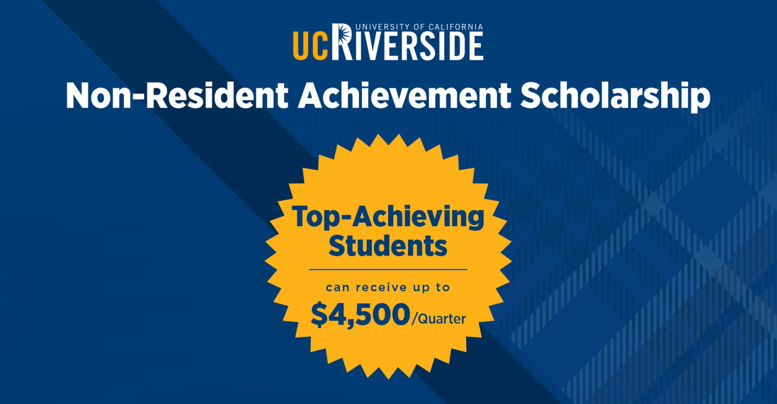 Learn why UCR is America's fastest-rising university!