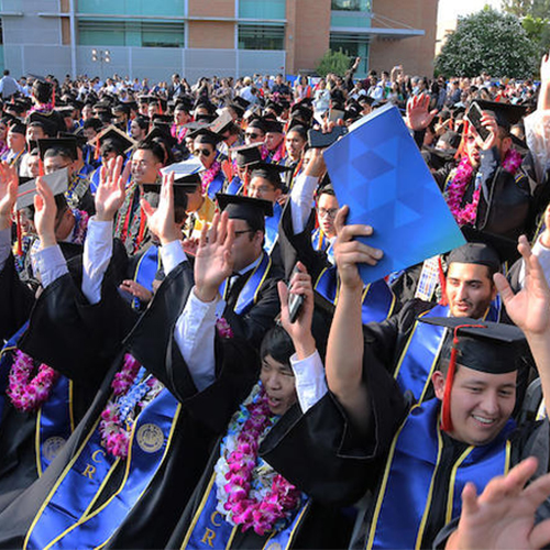 UC Riverside Crests 76% for Six-Year Graduation Rate